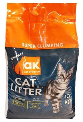 Akkum Marsilya Sabunu Kokulu İnce Taneli Topaklaşan Kedi Kumu 10 kg