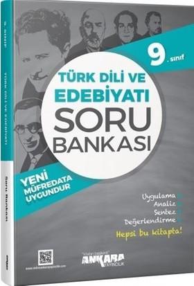 Ankara Yayıncılık 9.Sınıf Türkdili Ve Edebiyatı Soru Bankası