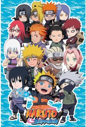 Gb Eye Naruto Chıbı Characters Maxı Poster