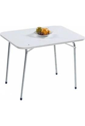 Bofigo Katlanır Masa Balkon Masası Bahçe Masası Katlanabilir Piknik Masası 60X80 Cm