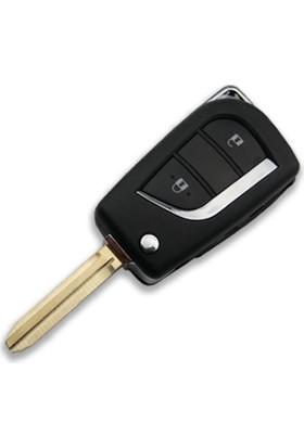 Esan Toyota 2 Butonlu Anahtar Kabı Kumanda Kabı