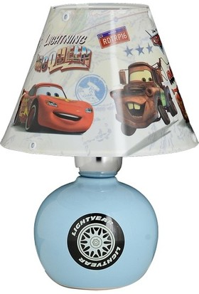 Ykc Disney Lisanslı Şimşek McQueen Seramik Abajur