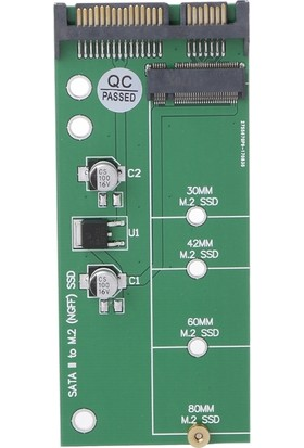 Alfais 4233 M.2 Ngff SSD To 2.5 Sata 3 Çevirici Dönüştürücü Adaptör