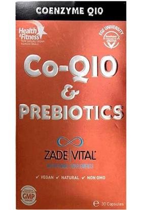Zade Vital Co-Q10 and Prebiotics 30 Kapsül