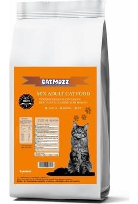 Cat Mozz Mix Karışık Yetişkin Kedi Maması 10 kg
