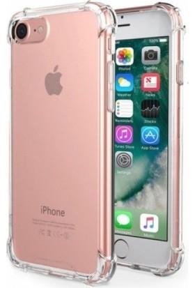 Aksesuarkolic Apple iPhone 6 Plus / 6s Plus Ultra İnce Şeffaf Airbag Anti Şok Silikon Kılıf - Şeffaf