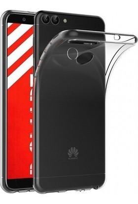 Aksesuarkolic Huawei P Smart Kılıf Ultra İnce Kaliteli Silikon Şeffaf 0.2mm - Şeffaf
