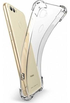 Aksesuarkolic Huawei P Smart Ultra İnce Şeffaf Airbag Anti Şok Silikon Kılıf - Şeffaf