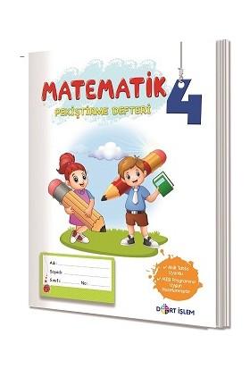 4. Sınıf Matematik Pekiştirme Defteri