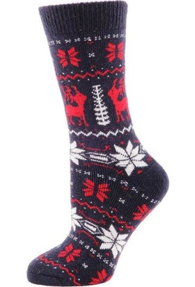 Panthzer Casual Wool Socks Çorap Lacivert