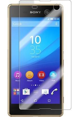 TelefonBorsası Sony Xperia M5 Ekran Koruyucu Cam