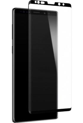 TelefonBorsası Samsung Galaxy Note 10 5D Kavisli Temperli Cam Ekran Koruyucu Film - Siyah