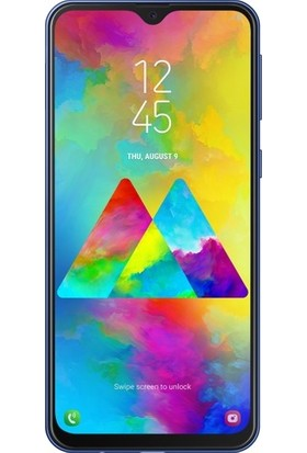TelefonBorsası Samsung Galaxy M30 5D Kavisli Temperli Cam Ekran Koruyucu Film - Siyah