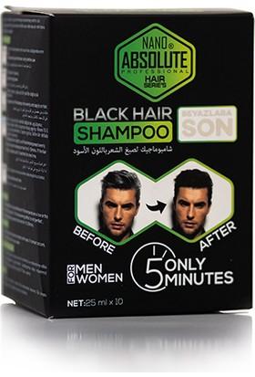 Dexe Nano Absolute Siyah Şampuan 10x25 ml