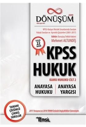 Dönüşüm- Anayasa Hukuku-Anayasa Yargısı - Mehmet Altundiş