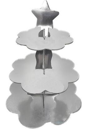 Kına Atölyesi Gümüş Cupcake Standı