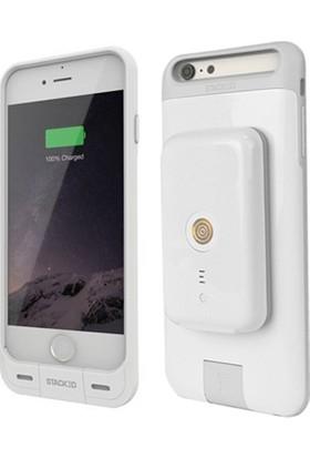 Daytona iPhone 6/6s iPhone 7/7s Kablosuz Manyetik Şarj Kiti Beyaz