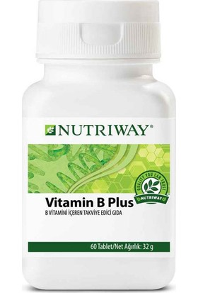 Amway NUTRIWAY - Vitamin B Plus 60 Tablet