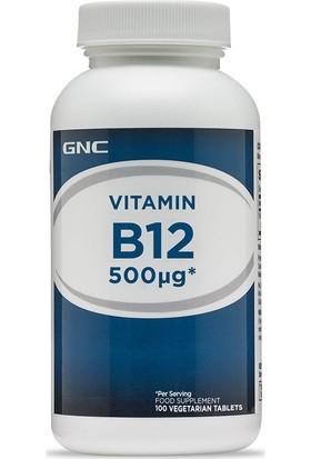 Gnc B12 Vitamini 500 Mcg 100 Tablet