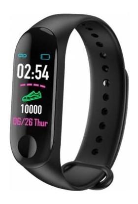 Owwotech M3 Akıllı Bileklik - Adımsayar - Uyku Takip - Kalp Ritim Ölçer - Renkli Ekran