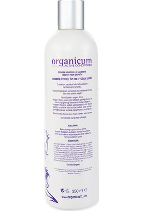 Organicum Aktif Saç Bakım Kremi 350 ml