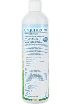 Organicum Kepek Karşıtı & Saç Bakım Şampuanı 350 ml