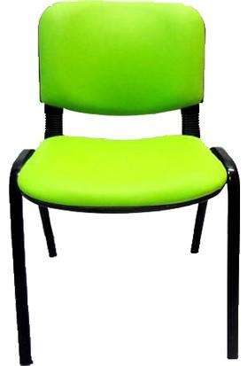 Ofis City Sandalye Büro Sandalye Form Sandalye Yeşil