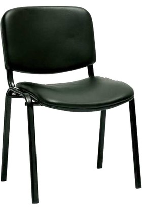 Ofis City Sandalye Büro Sandalye Form Sandalye Bekleme Sandalye Koltuk Siyah