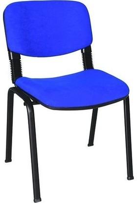 Ofis City Sandalye Büro Sandalye Form Sandalye Bekleme Sandalye Koltuk Lacivert