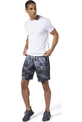 Reebok Du2137 Erkek Beyaz Tişört