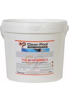 Clean Pool Toz Ph Düşürücü 25 Kg