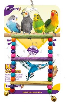 Eurobird Kuş Oyuncağı Renkli Boncuklu Merdiven (ky08)