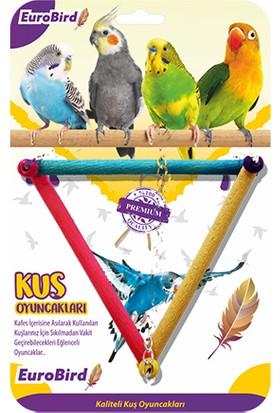 Eurobird Kuş Oyuncağı Renkli Üçgen Salıncak (ky09)