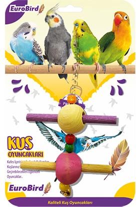 Eurobird Kuş Oyuncağı Renkli Dal Salıncak (ky30)