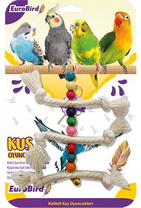 Eurobird Kuş Oyuncağı Üçlü İp Merdiven (ky50)