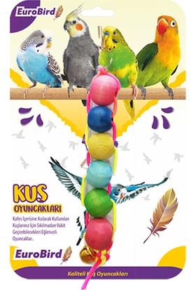 Eurobird Kuş Oyuncağı Renkli Dizili Boncuk (ky72)