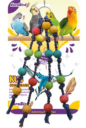 Eurobird Kuş Oyuncağı İpli Boncuk (ky77)