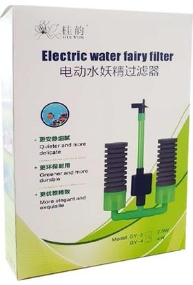 Gui Yun Motorlu Pipo Filtre 4 W