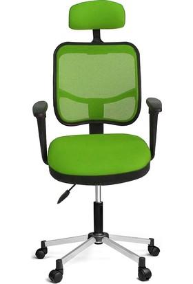 Ofisin Hazır 817 File Koltuk Krom Ayakli F.Yeşili