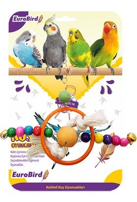 Eurobird Kuş Oyuncağı Bocuklu Halka (Ky56)