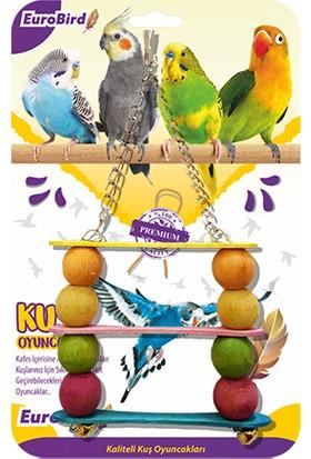 Eurobird Kuş Oyuncağı Üçlü Salıncak (Ky31)