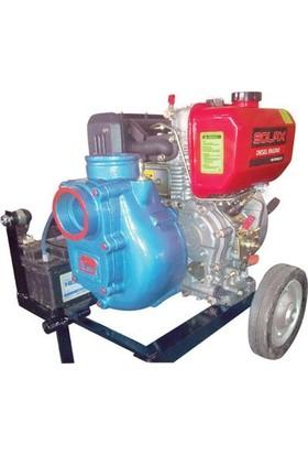 Akın Pompa Dzl-Ems330 Kendinden Klapeli Dizel Su Motoru Motopomp 11 Bg 3200 Devir