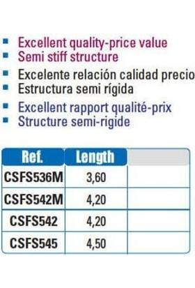 Yukı Fan Surf T5 4,20 100 250 Gr Teleskobik Surf Kamışı