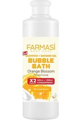 Farmasi Bubble Banyo Turuncu Blossom Portakal Çiçeği 500 ml