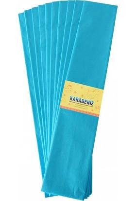 Lino Lüx Krepon Kağıdı Mavi 10Lu 50X200 Pa-014-Mv