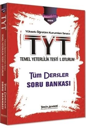 Tercih Akademi Yayınları 2018 YKS 1. Oturum TYT Tüm Dersler Soru Bankası