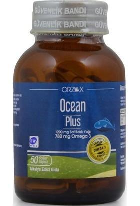 Ocean Plus 1200 mg 50 Kapsül Balık Yağı