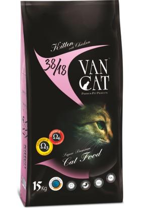 VanCat Kuzulu Pirinçli Yavru Kedi Maması 15 kg