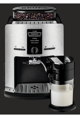 Krups EA829D Full Otomatik Latte Espresso Cappuccino Americano Kahve Makinesi Beyaz - 8000035598