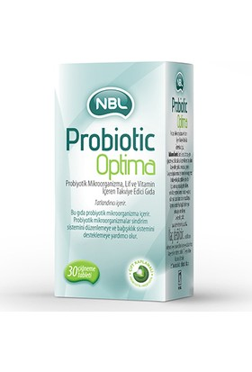 Nbl Probiotic Optima 30 Tablet
